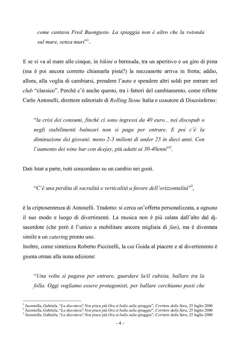 Anteprima della tesi: Il segno del piacere: Sociosemiotica del Loisir, Pagina 4