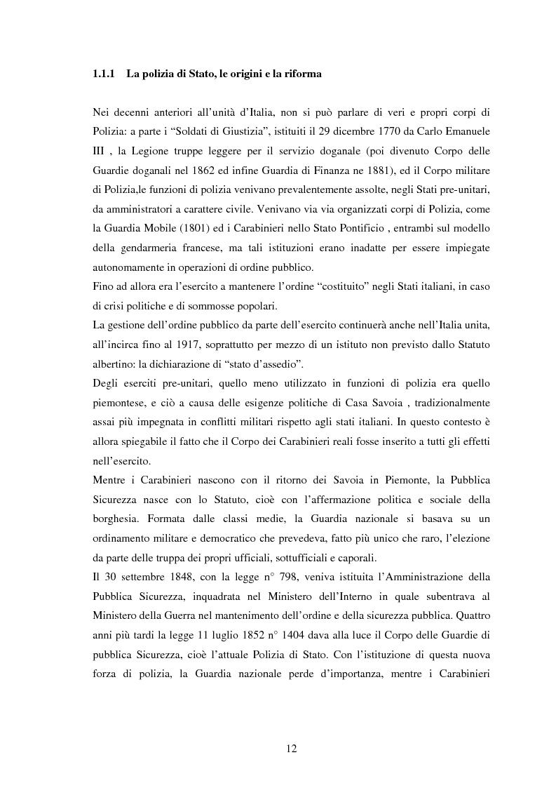 Anteprima della tesi: Comunicare il servizio offline e online: polizia di prossimità e siti web della polizia italiana, inglese e spagnola, Pagina 8