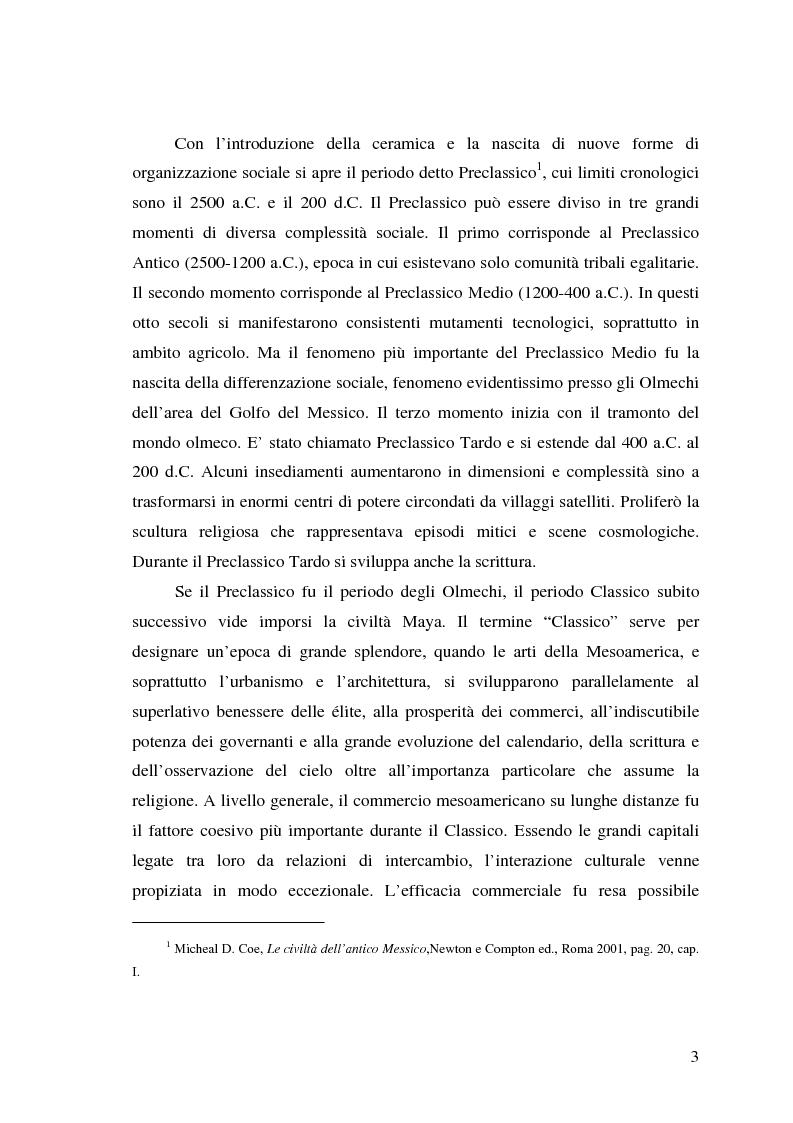Anteprima della tesi: Tollan Teotihuacan e la storia tolteca, Pagina 2