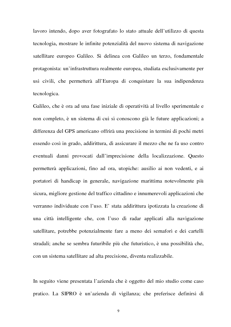 Anteprima della tesi: Parchi scientifici e tecnologici: SIPRO una realtà operativa nel Tecnopolo Tiburtino, Pagina 3