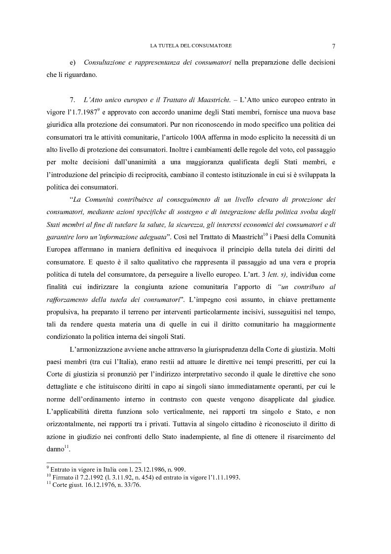Anteprima della tesi: Il nuovo codice del consumo, Pagina 11