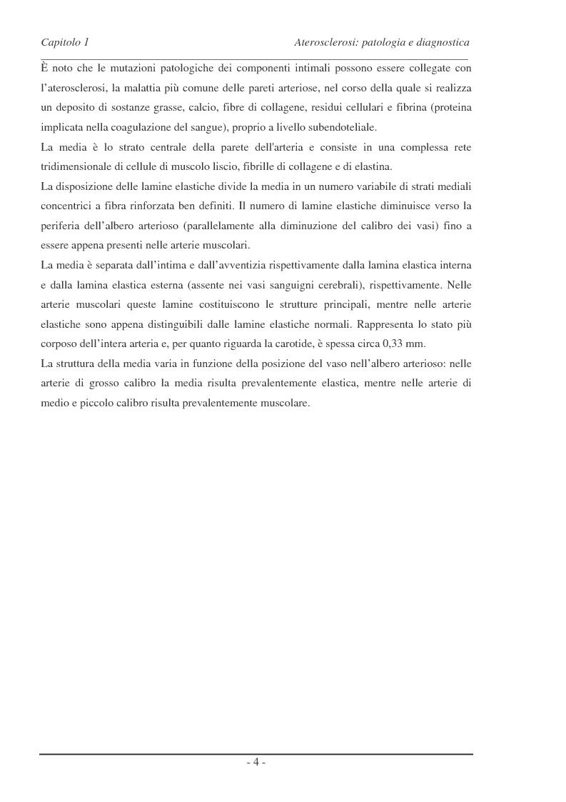 Anteprima della tesi: Analisi di alcune tecniche di tromboendoarteriectomia (teac) carotidea attraverso un approccio di tipo interazione fluido-struttura (FSI), Pagina 3