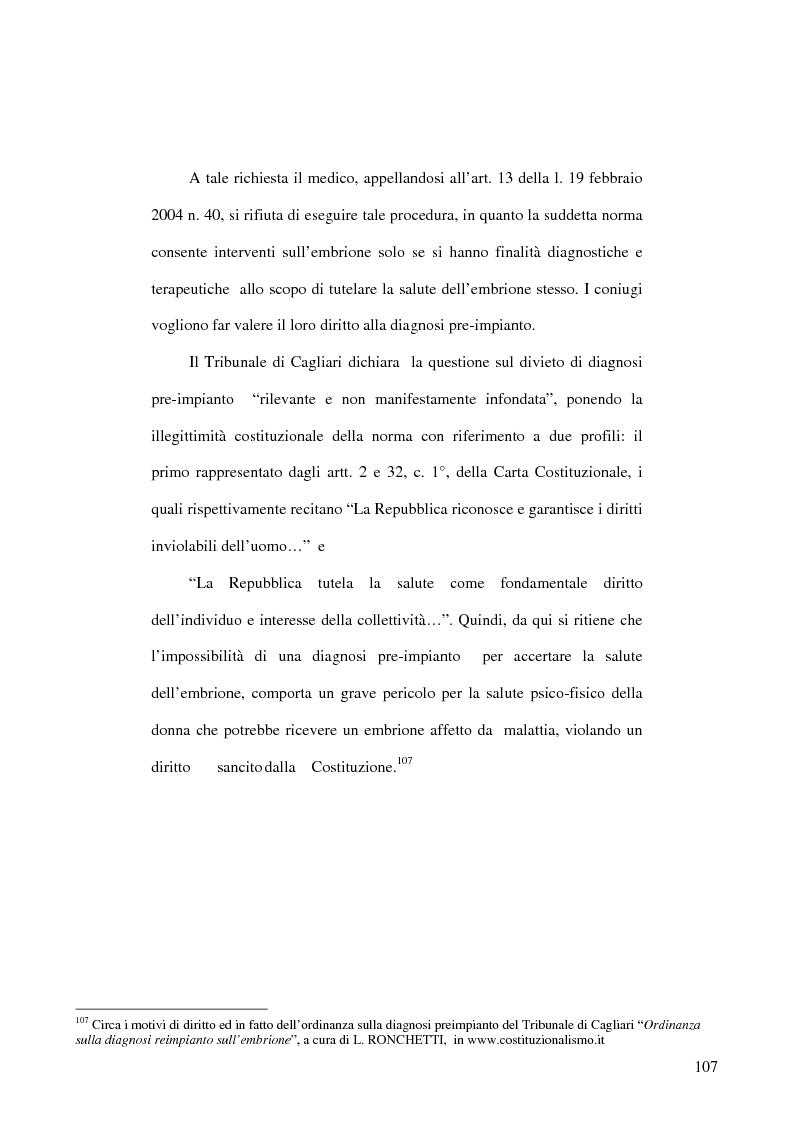 Anteprima della tesi: Le sentenze di ammissibilità del referendum in materia di procreazione medicalmente assistita, Pagina 2