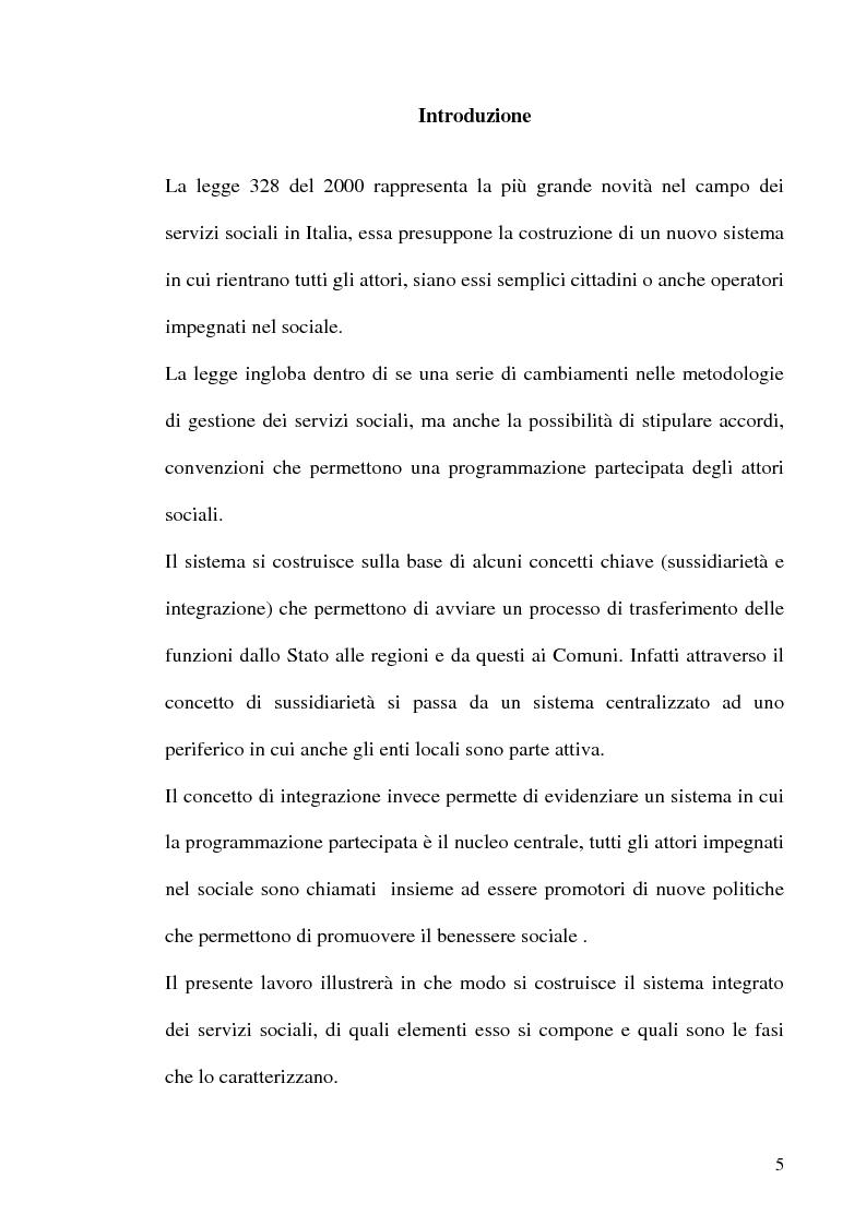 Legge 328 00 2 piani di zona a confronto tesi di laurea for Piani di aggiunta di suite in legge