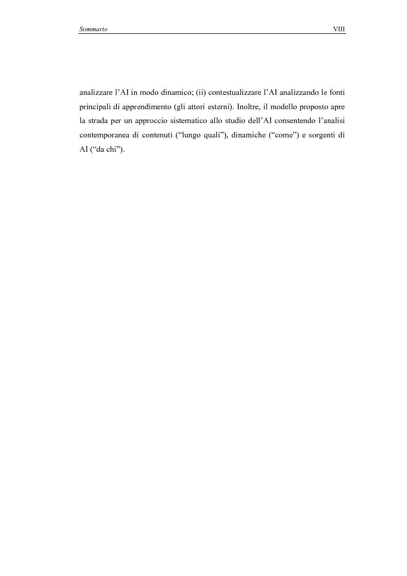 Anteprima della tesi: Il processo di Apprendimento Imprenditoriale nelle start-up high-tech: un modello concettuale e l'analisi di alcuni casi italiani., Pagina 8