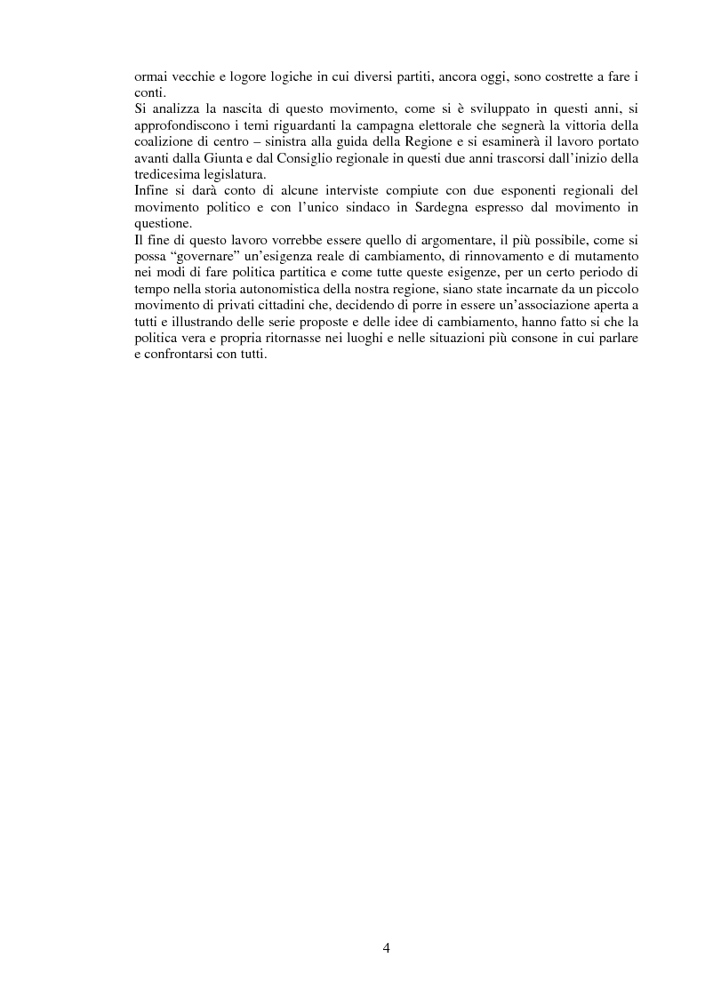 Anteprima della tesi: Renato Soru e Progetto Sardegna nella XIII legislatura, Pagina 2