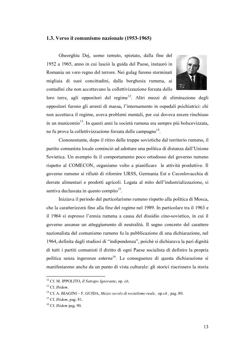 Anteprima della tesi: Il flusso migratorio dei rumeni in Italia. Storie, problematiche, aspetti sociali., Pagina 10