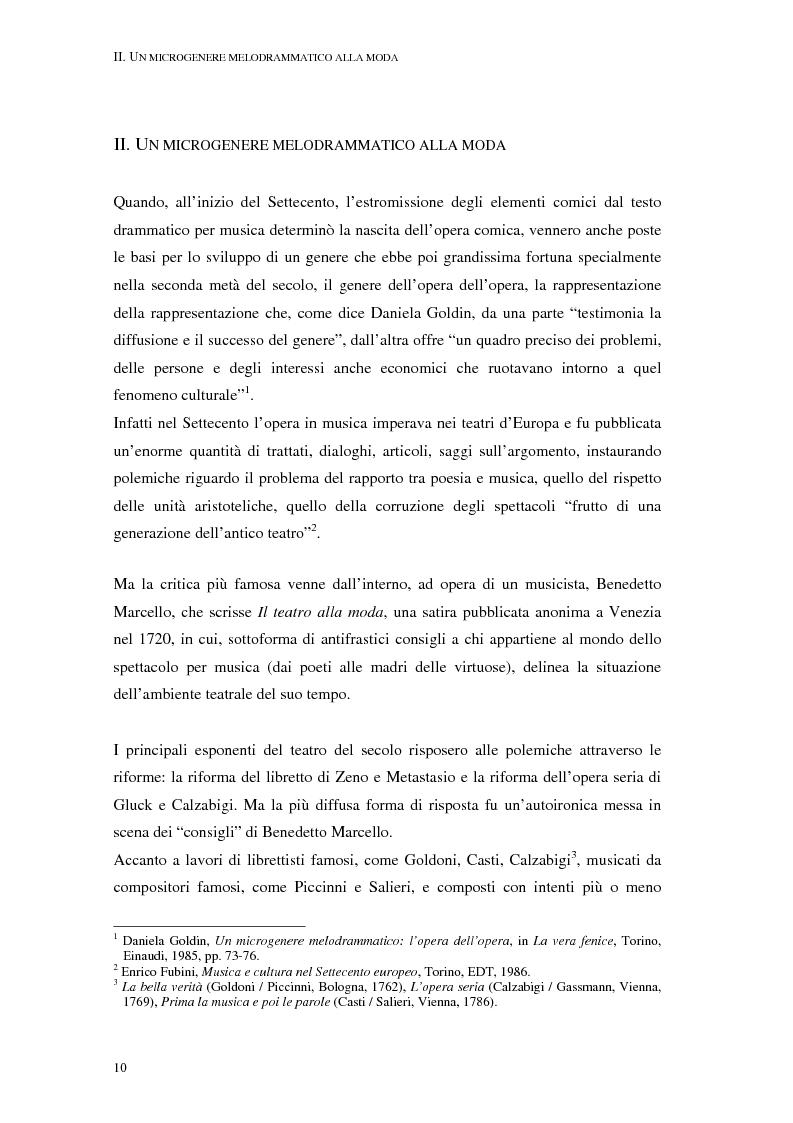 Anteprima della tesi: Questo quartetto almeno lasciate terminar. L'opera dell'opera a Verona nei libretti settecenteschi., Pagina 12