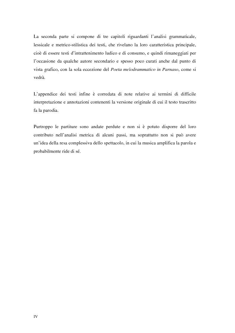 Anteprima della tesi: Questo quartetto almeno lasciate terminar. L'opera dell'opera a Verona nei libretti settecenteschi., Pagina 2
