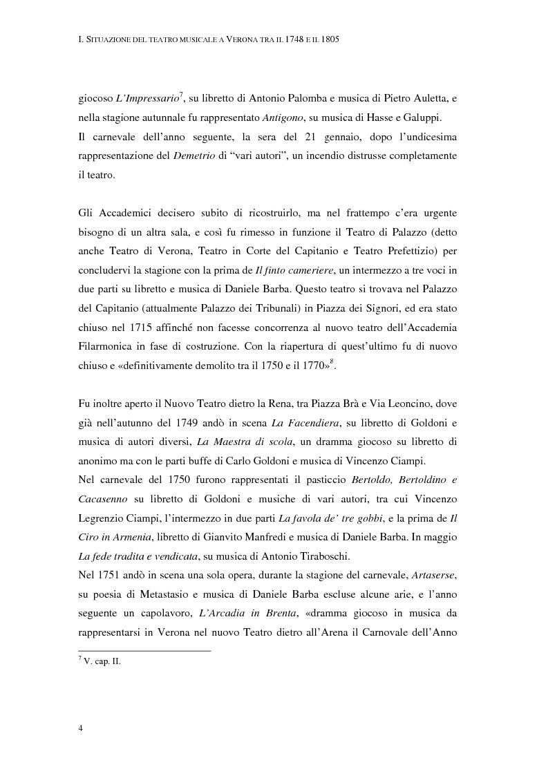 Anteprima della tesi: Questo quartetto almeno lasciate terminar. L'opera dell'opera a Verona nei libretti settecenteschi., Pagina 6