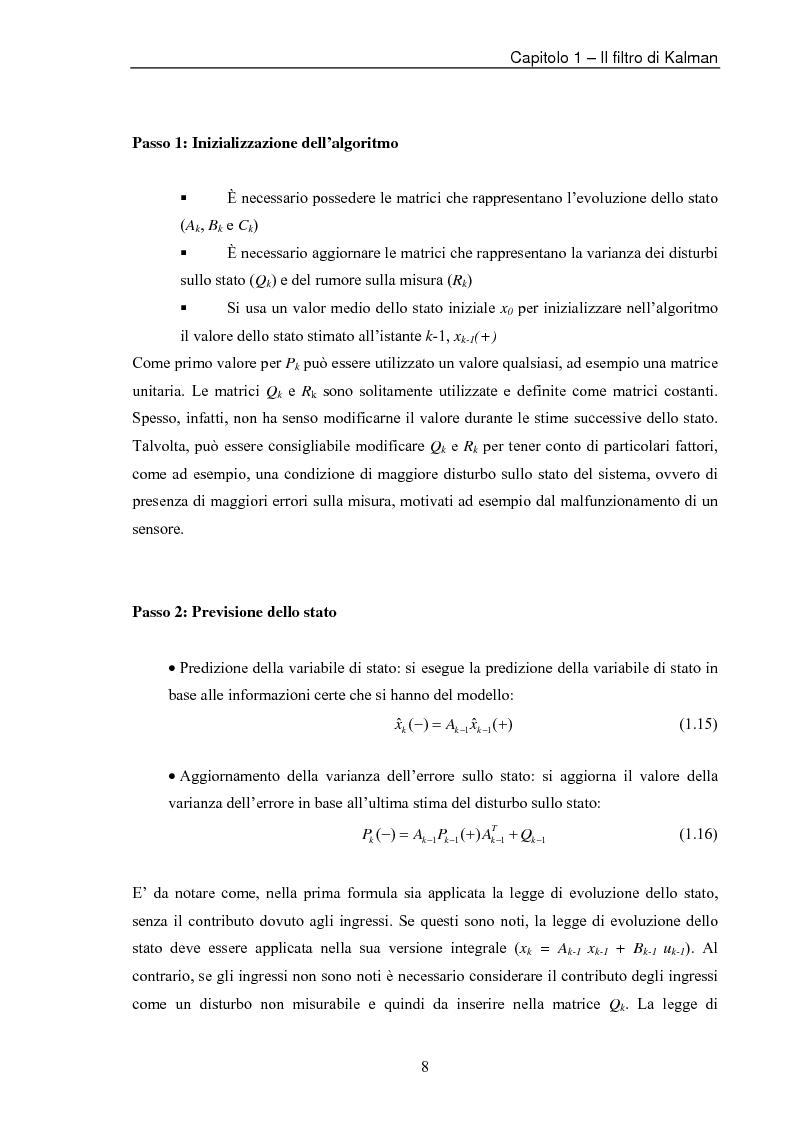 Anteprima della tesi: Il filtro di Kalman esteso per la stima del tempo di volo di segnali ecografici, Pagina 11