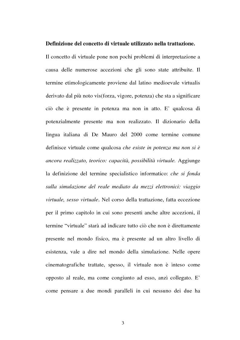 "Anteprima della tesi: ""Pillola rossa o pillola azzurra?"", Pagina 3"