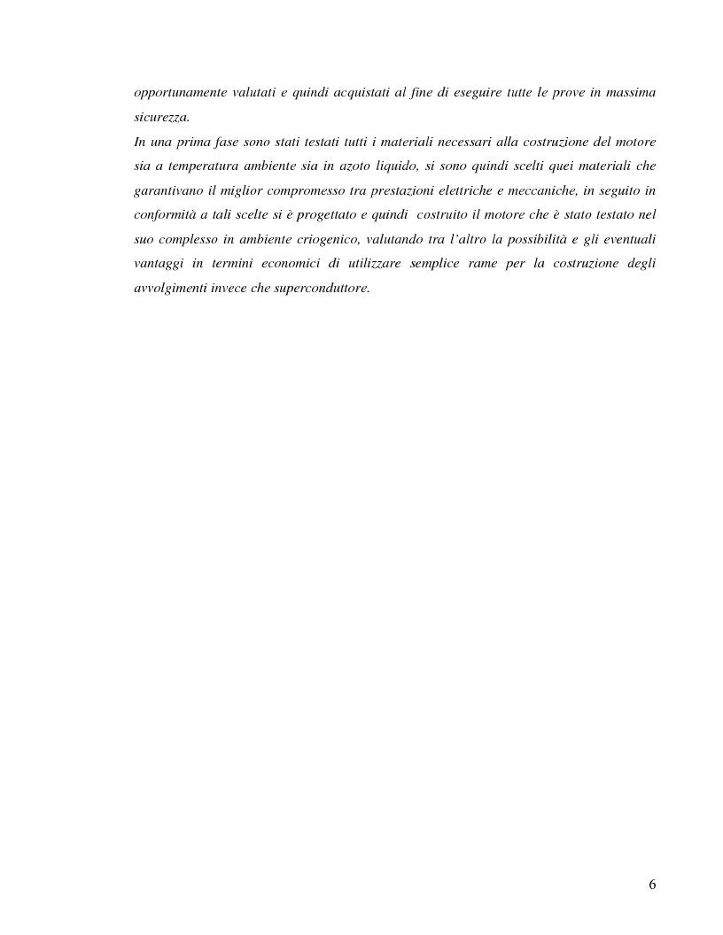 Anteprima della tesi: Progettazione e realizzazione di un motore lineare tubolare a magneti permanenti raffreddato ad azoto liquido, Pagina 2