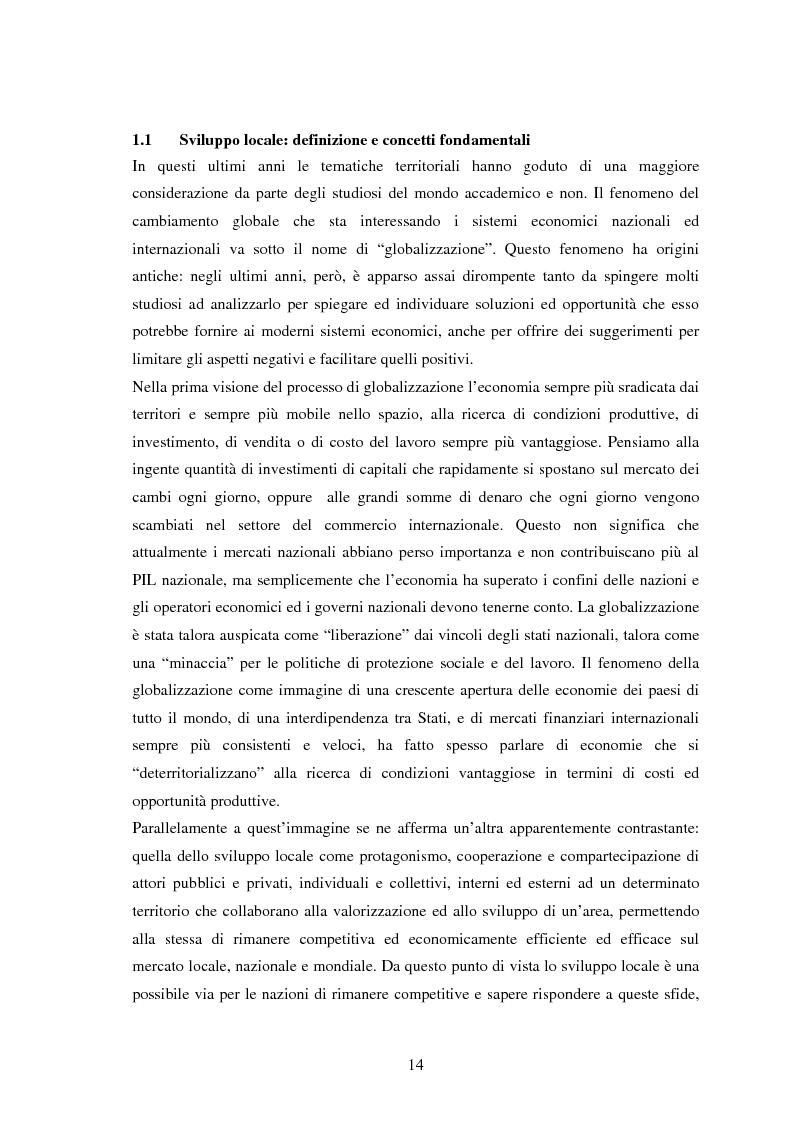 Anteprima della tesi: Università e Sviluppo Locale: il caso del Polo Universitario ''Città di Prato'', Pagina 10