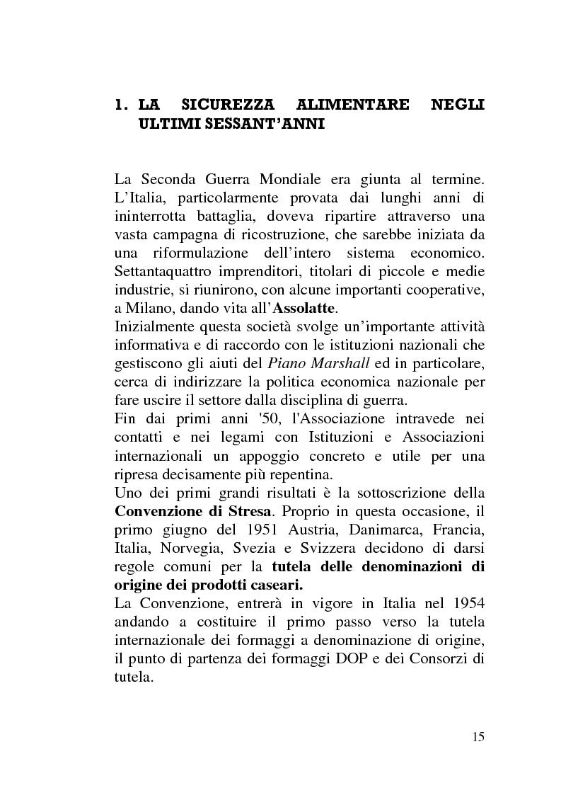 Anteprima della tesi: La sicurezza alimentare tra normativa, ruolo dell'Authority e comunicazione del rischio, Pagina 10