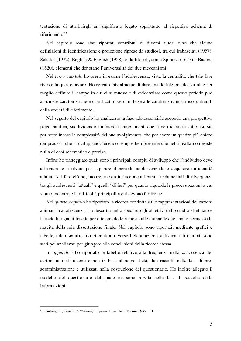 Anteprima della tesi: Il cartone animato: un approccio psicodinamico, Pagina 3