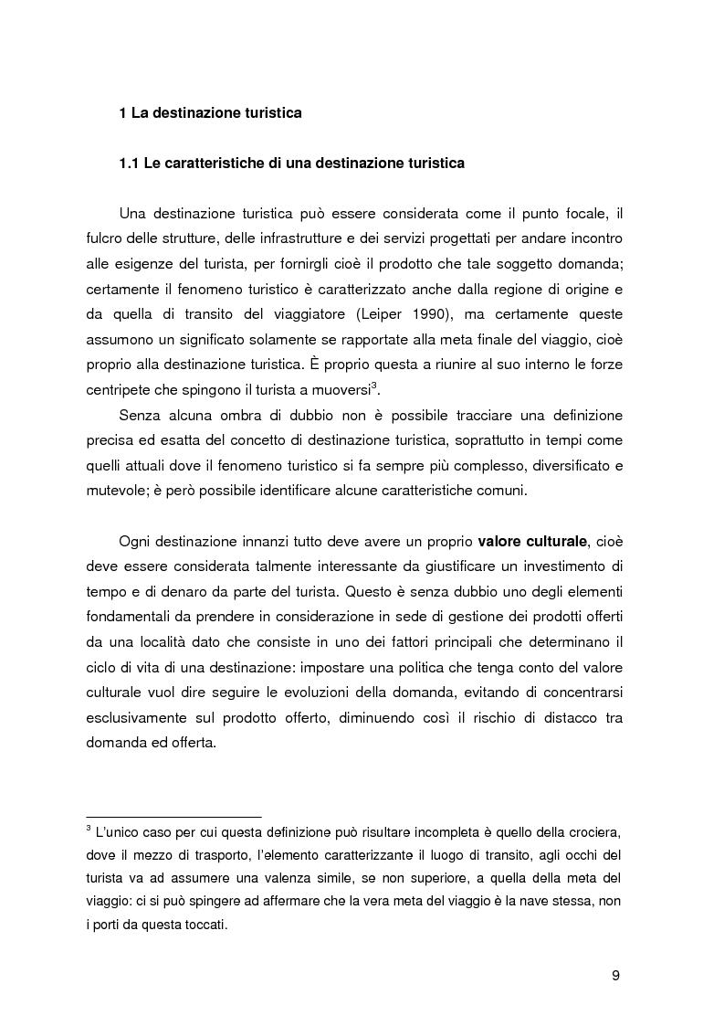 Anteprima della tesi: Destinazione e Cluster Turistici: un'applicazione all'Oasi egiziana di Siwa, Pagina 4