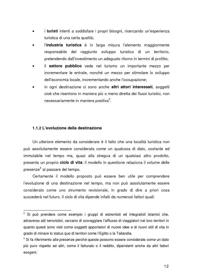 Anteprima della tesi: Destinazione e Cluster Turistici: un'applicazione all'Oasi egiziana di Siwa, Pagina 7