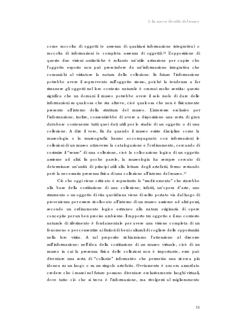 Anteprima della tesi: Design nel museo. Strategie di merchandising, Pagina 14