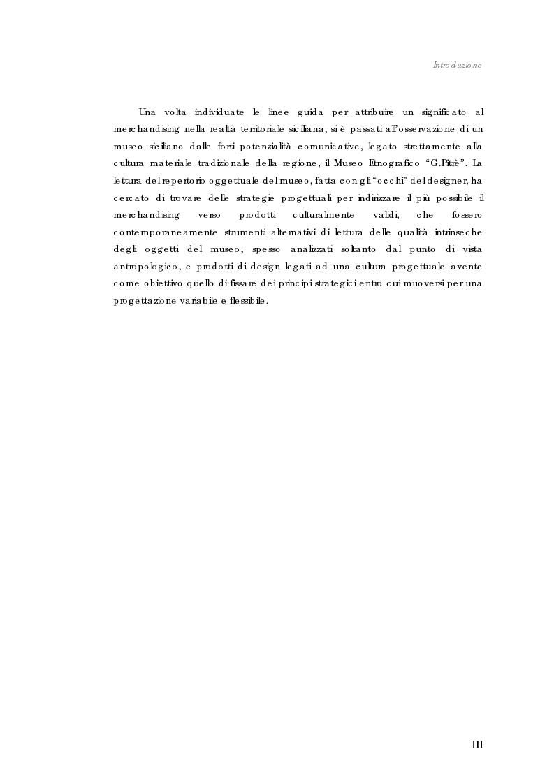 Anteprima della tesi: Design nel museo. Strategie di merchandising, Pagina 3