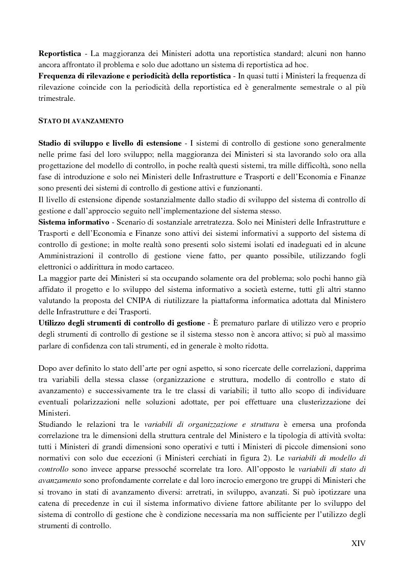 Anteprima della tesi: I sistemi di controllo di gestione nelle amministrazioni centrali, Pagina 10