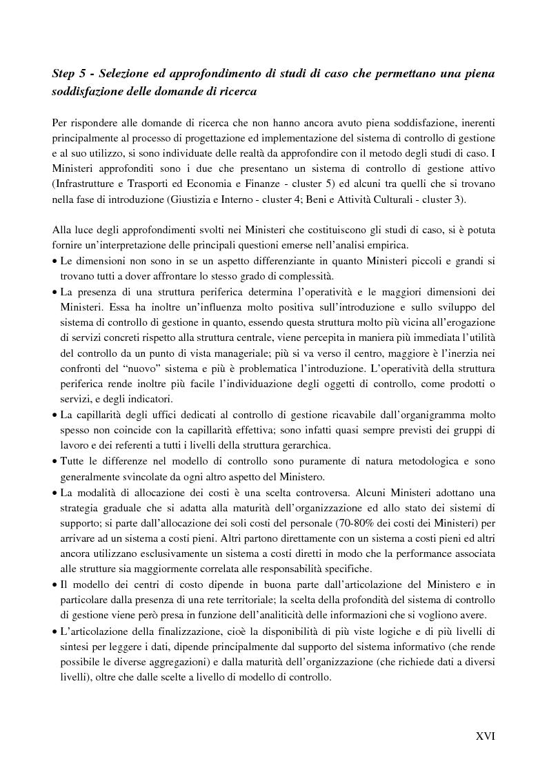 Anteprima della tesi: I sistemi di controllo di gestione nelle amministrazioni centrali, Pagina 12