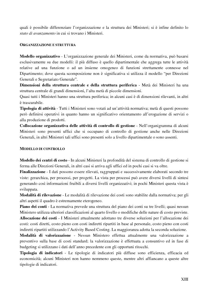 Anteprima della tesi: I sistemi di controllo di gestione nelle amministrazioni centrali, Pagina 9