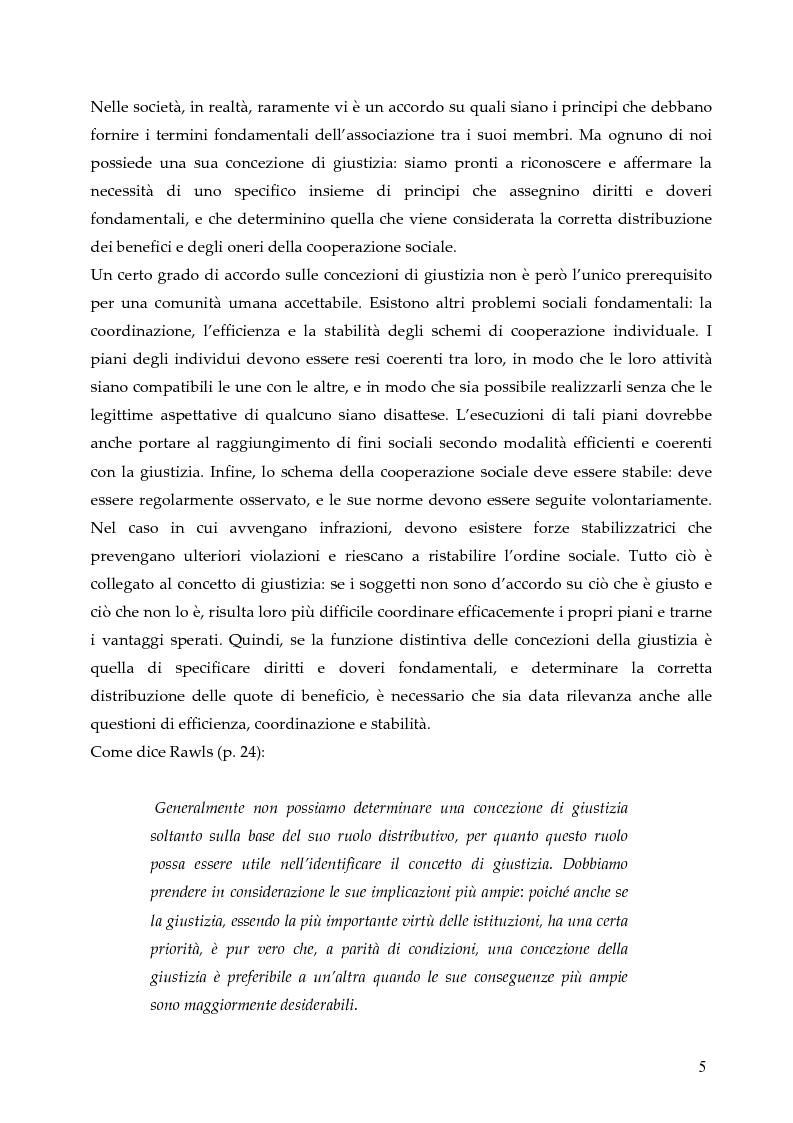 Anteprima della tesi: L'allocazione delle risorse economiche e il problema dell'equità in ambito sanitario: un'indagine sul comportamento del personale medico, Pagina 5