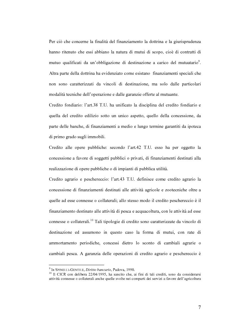 Anteprima della tesi: Il Jus Variandi nei contratti bancari di finanziamento, Pagina 10
