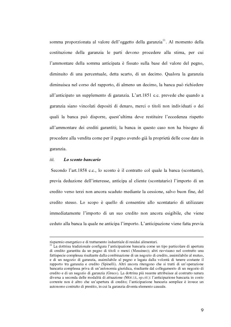 Anteprima della tesi: Il Jus Variandi nei contratti bancari di finanziamento, Pagina 12