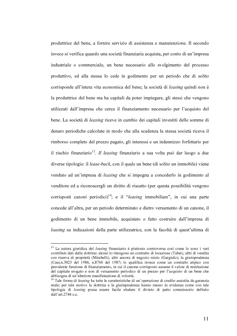Anteprima della tesi: Il Jus Variandi nei contratti bancari di finanziamento, Pagina 14