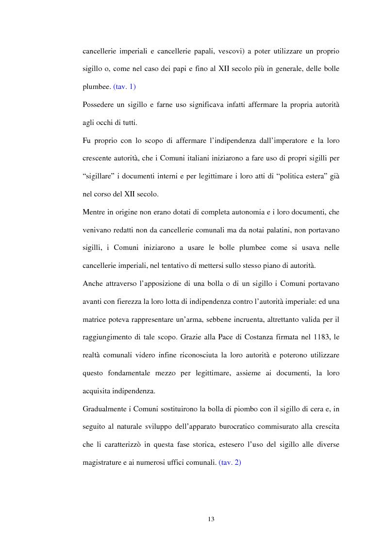 Anteprima della tesi: Sigillografia e sfragistica ligure medievale: indagini e proposte, Pagina 10