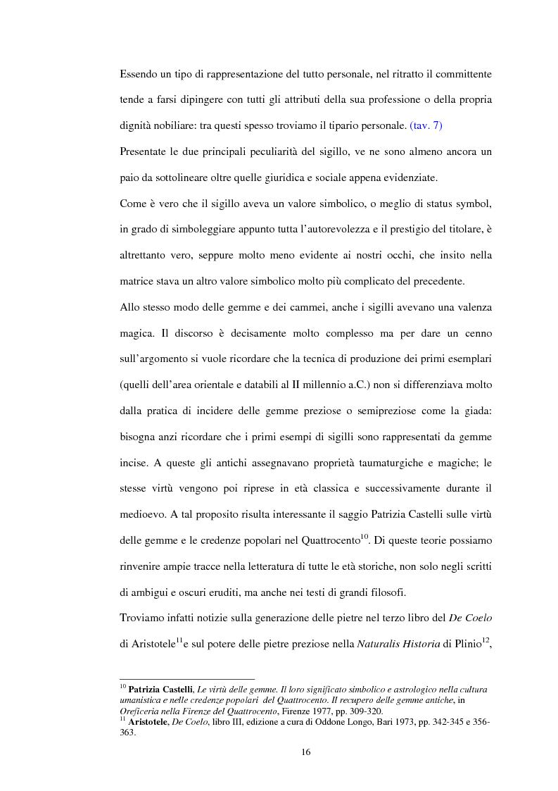 Anteprima della tesi: Sigillografia e sfragistica ligure medievale: indagini e proposte, Pagina 13