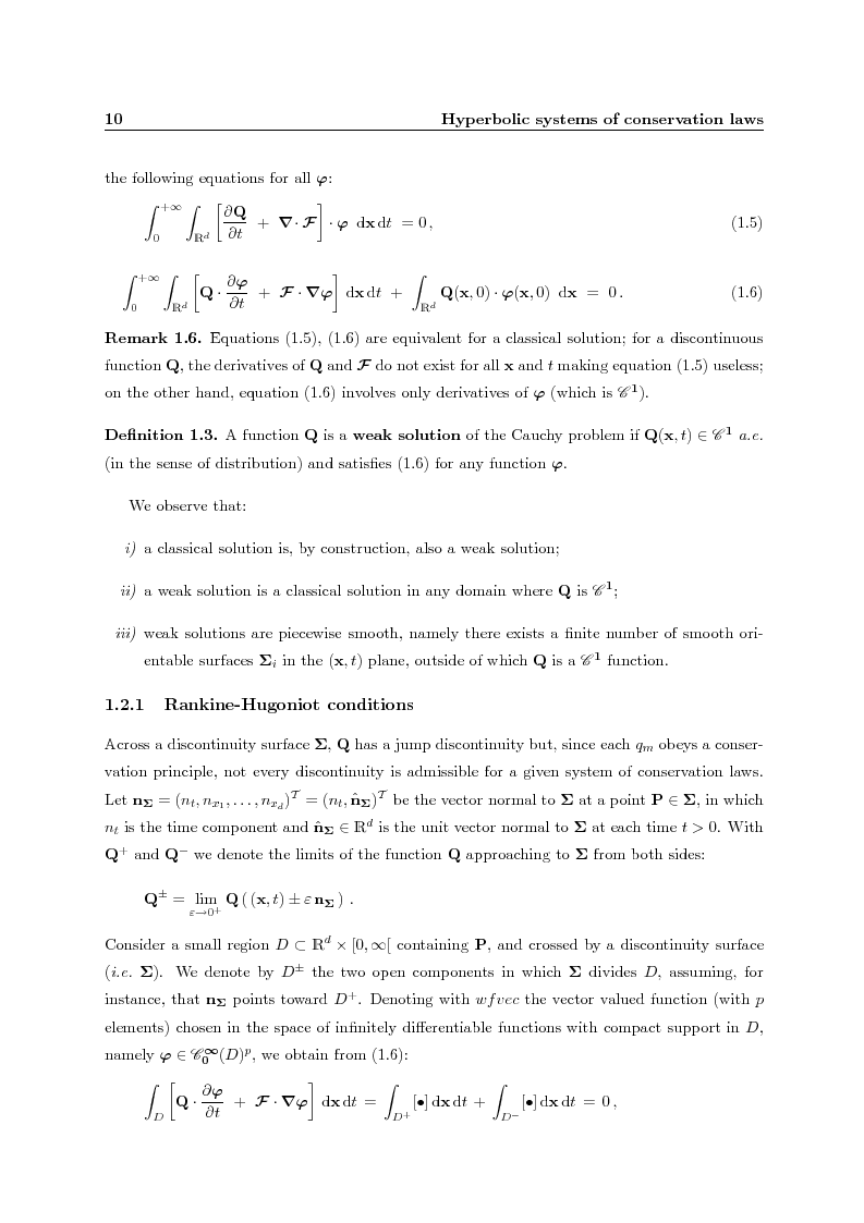 Anteprima della tesi: Residual distribution schemes for advection and advection-diffusion problems on quadrilateral and hybrid meshes, Pagina 10