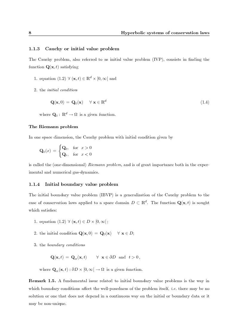 Anteprima della tesi: Residual distribution schemes for advection and advection-diffusion problems on quadrilateral and hybrid meshes, Pagina 8
