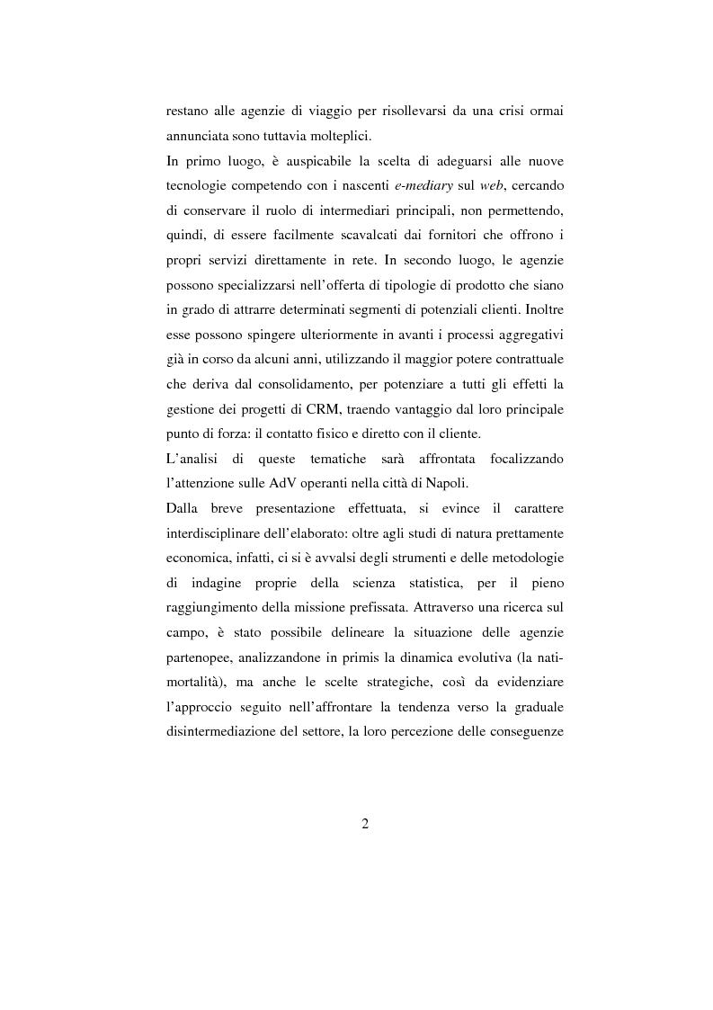 Anteprima della tesi: ADV e multicanalità. Un'indagine esplorativa nella città di Napoli, Pagina 2
