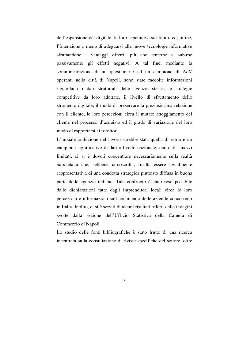 Anteprima della tesi: ADV e multicanalità. Un'indagine esplorativa nella città di Napoli, Pagina 3