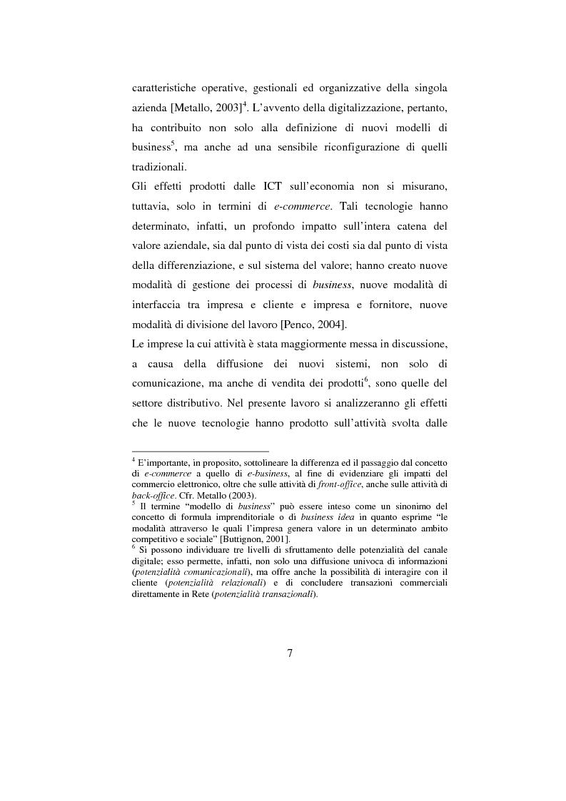 Anteprima della tesi: ADV e multicanalità. Un'indagine esplorativa nella città di Napoli, Pagina 7