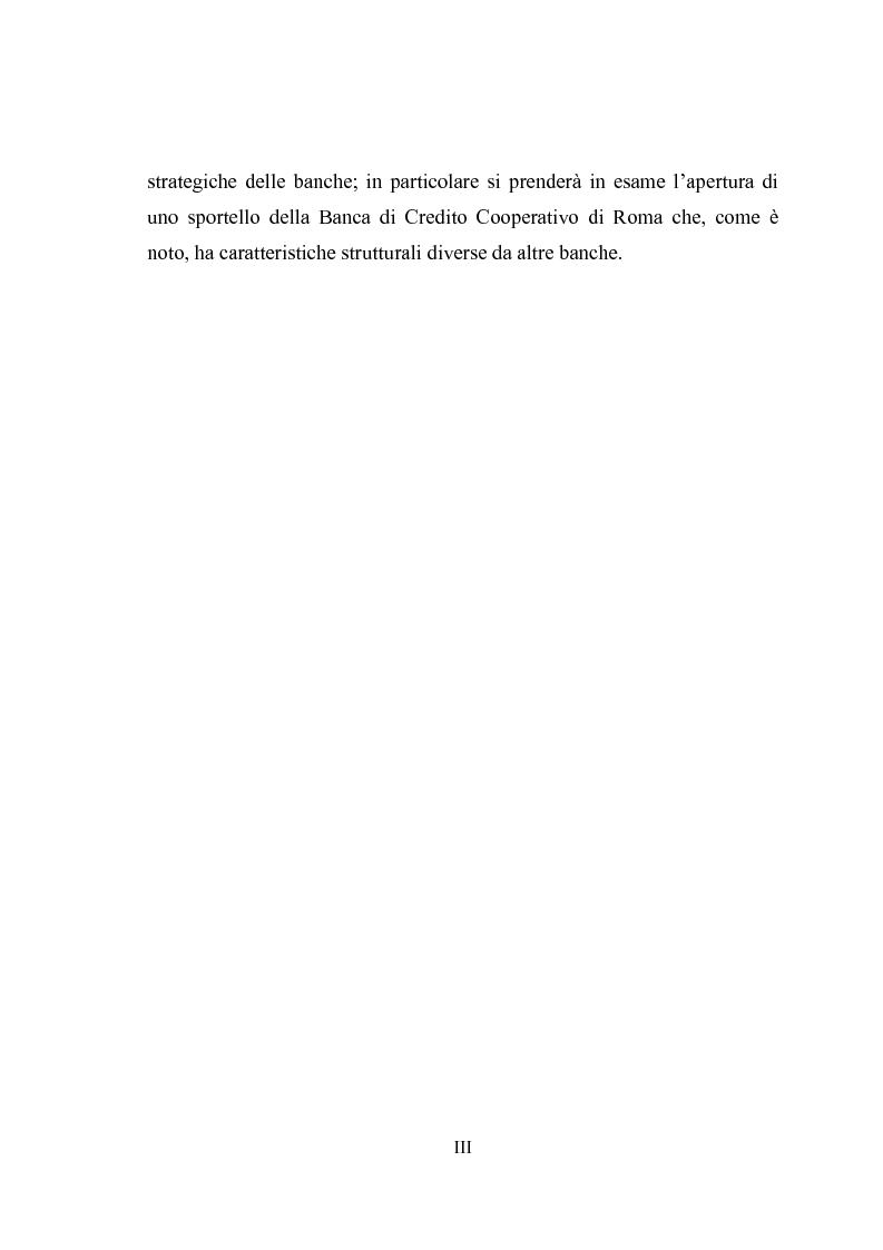 Anteprima della tesi: Geomarketing: un'applicazione alle agenzie bancarie di Roma, Pagina 3