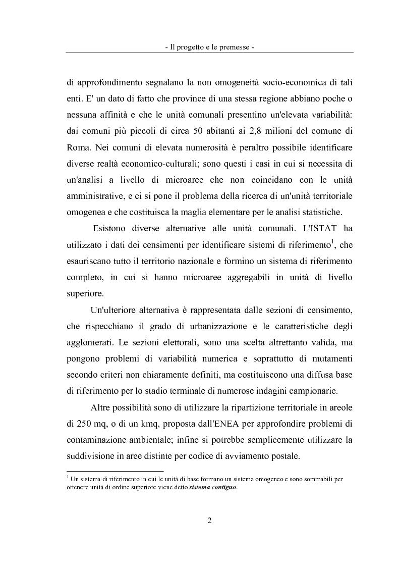 Anteprima della tesi: Geomarketing: un'applicazione alle agenzie bancarie di Roma, Pagina 5