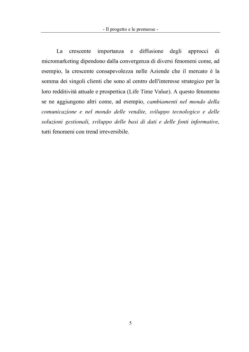 Anteprima della tesi: Geomarketing: un'applicazione alle agenzie bancarie di Roma, Pagina 8