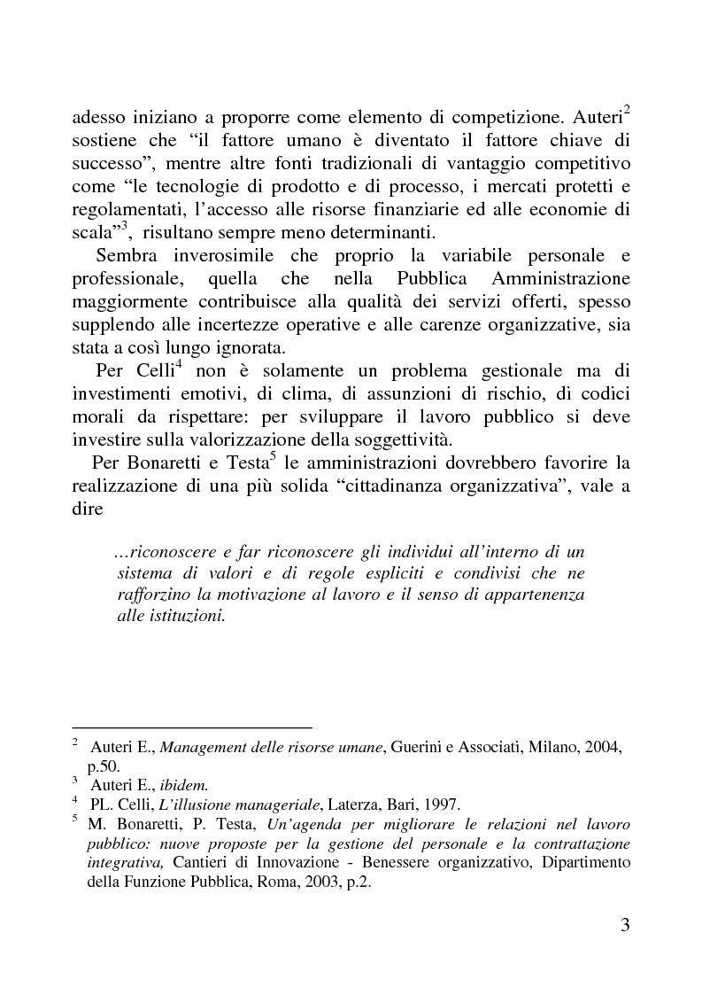 Anteprima della tesi: Benessere organizzativo e progettazione ergonomica: il caso del Comune di Anzio, Pagina 3