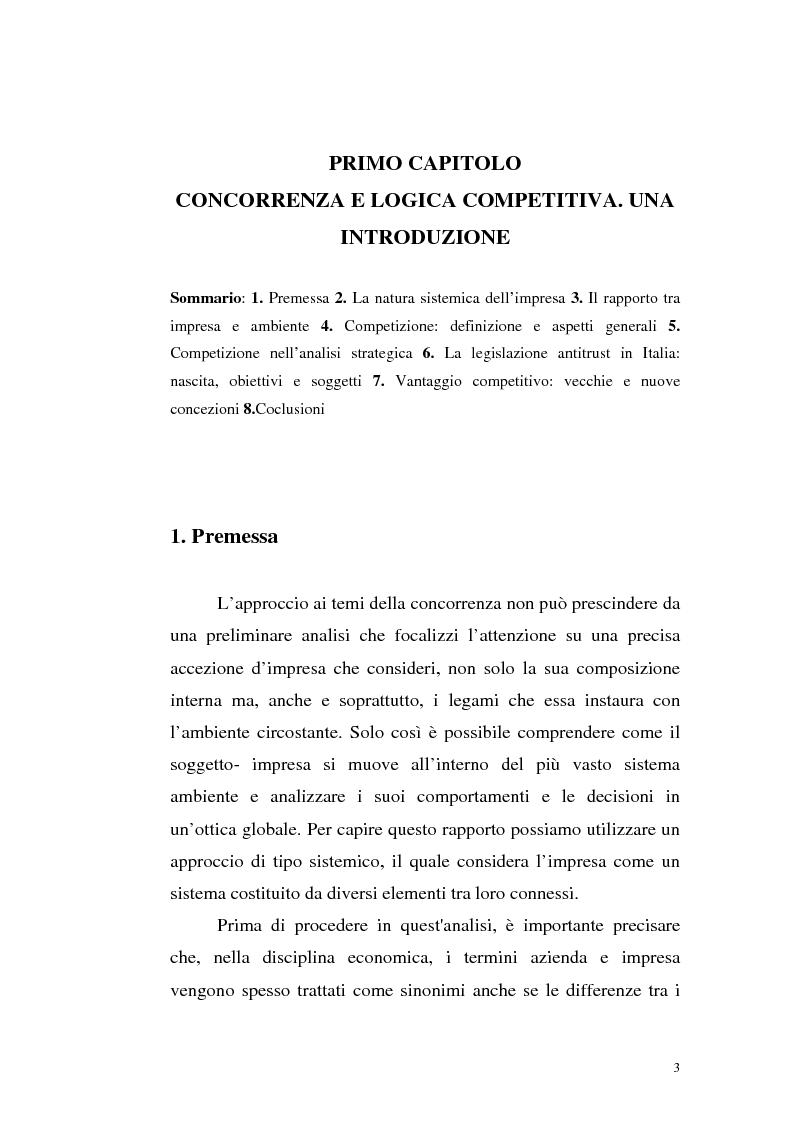 Anteprima della tesi: Il mercato della telefonia fissa in Italia dal monopolio alla competizione. Il caso di Telecom Italia., Pagina 3