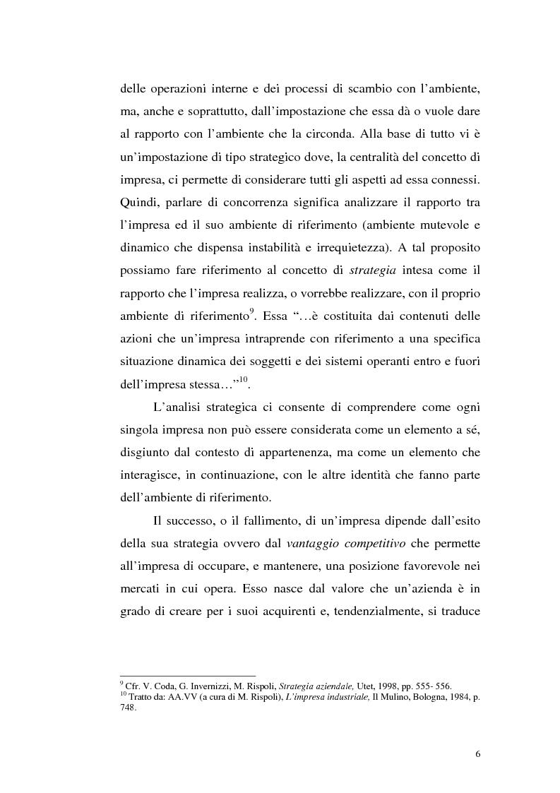 Anteprima della tesi: Il mercato della telefonia fissa in Italia dal monopolio alla competizione. Il caso di Telecom Italia., Pagina 6