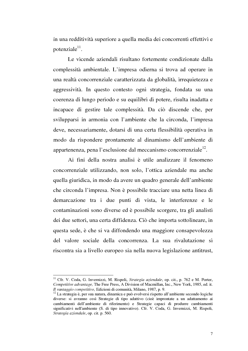 Anteprima della tesi: Il mercato della telefonia fissa in Italia dal monopolio alla competizione. Il caso di Telecom Italia., Pagina 7