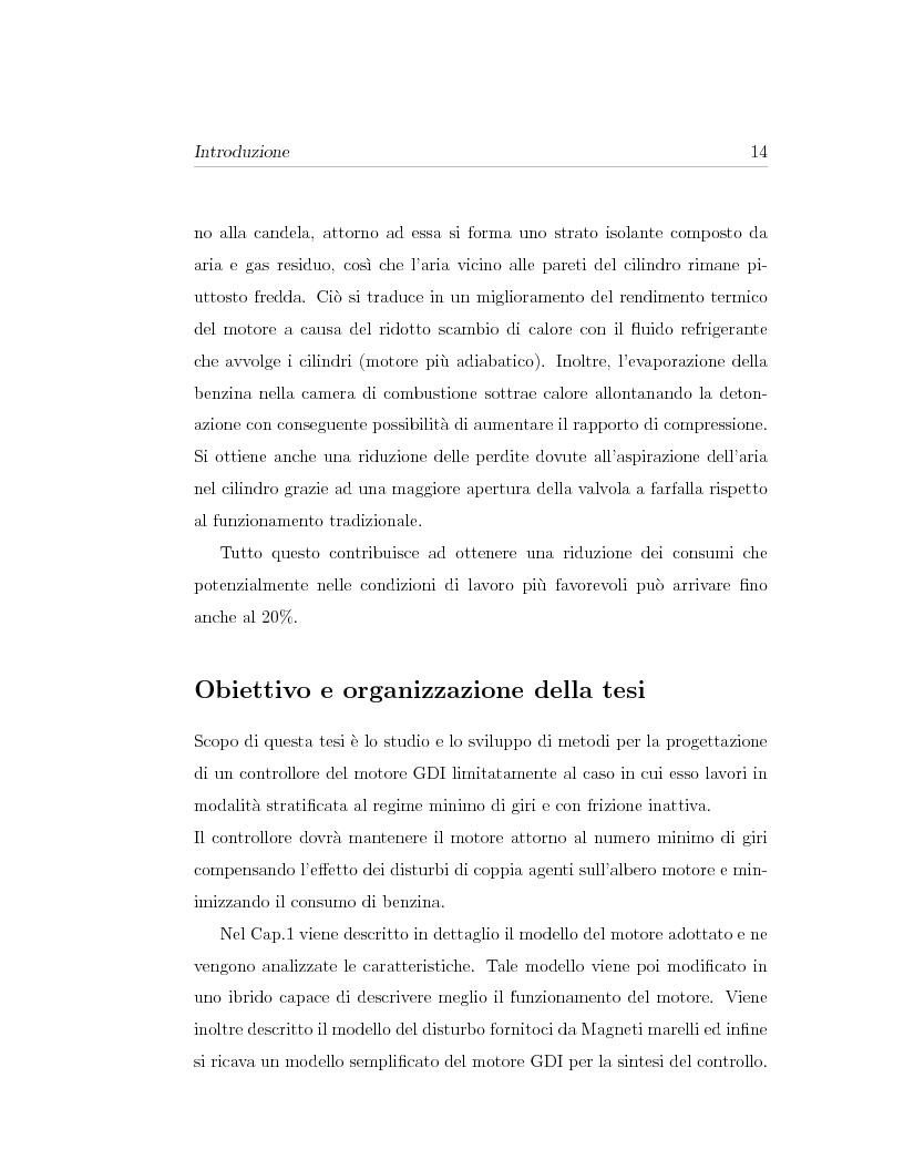 Anteprima della tesi: Minimizzazione dei consumi in motori-benzina ad iniezione diretta: un approccio basato sul controllo predittivo, Pagina 4
