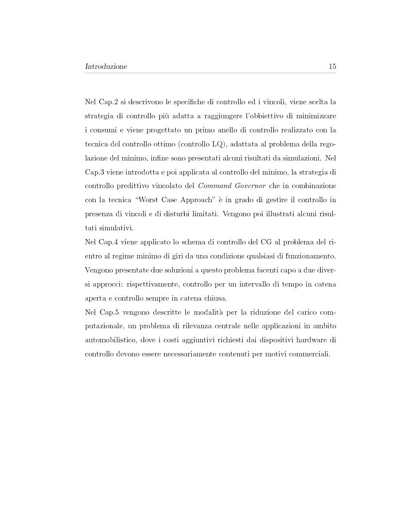 Anteprima della tesi: Minimizzazione dei consumi in motori-benzina ad iniezione diretta: un approccio basato sul controllo predittivo, Pagina 5