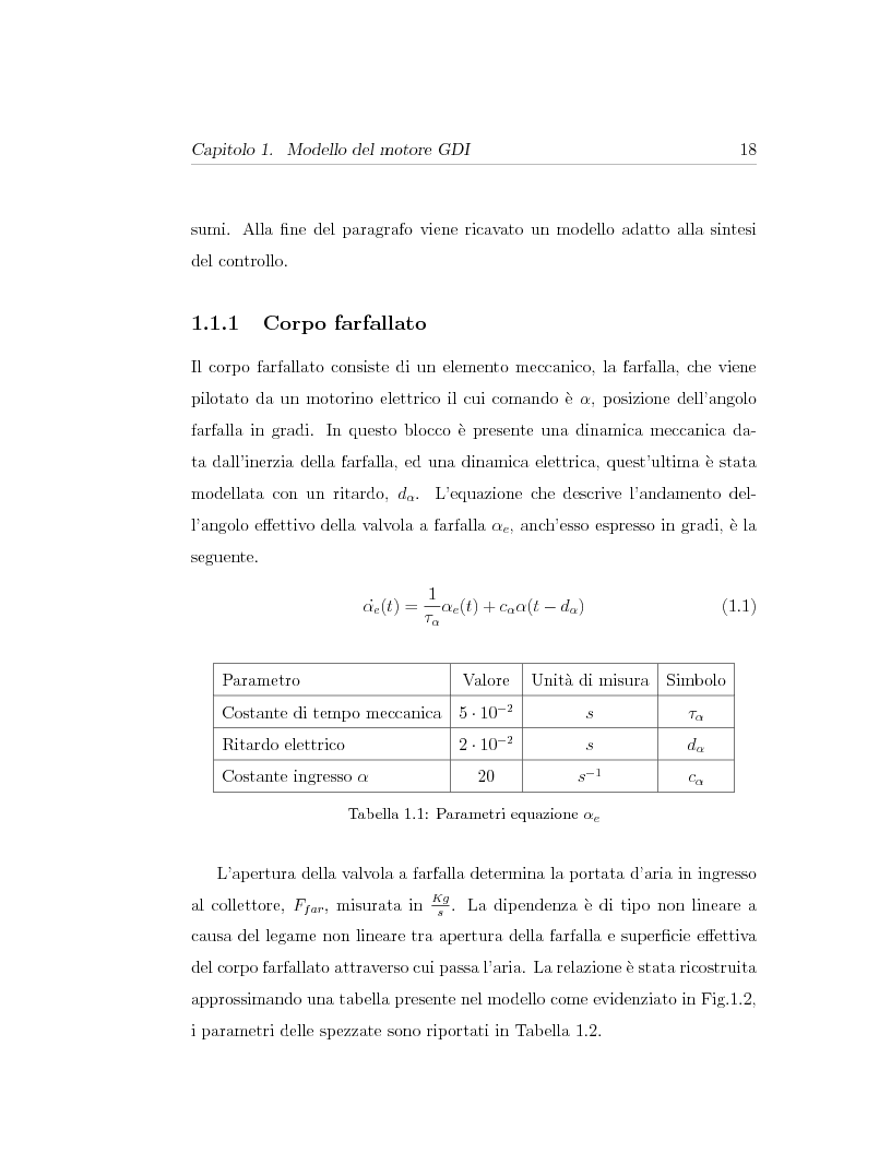 Anteprima della tesi: Minimizzazione dei consumi in motori-benzina ad iniezione diretta: un approccio basato sul controllo predittivo, Pagina 8