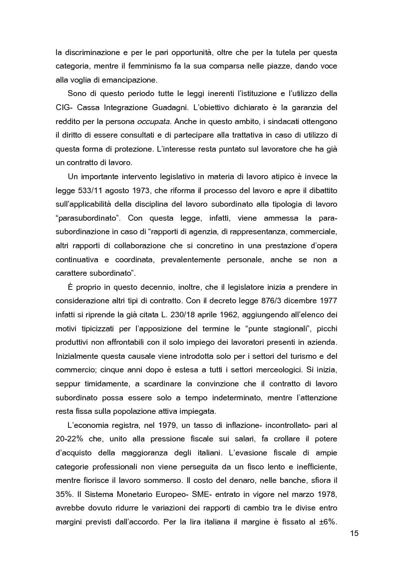 Anteprima della tesi: I lavoratori in prestito: uno studio sui nuovi contratti di lavoro, Pagina 11