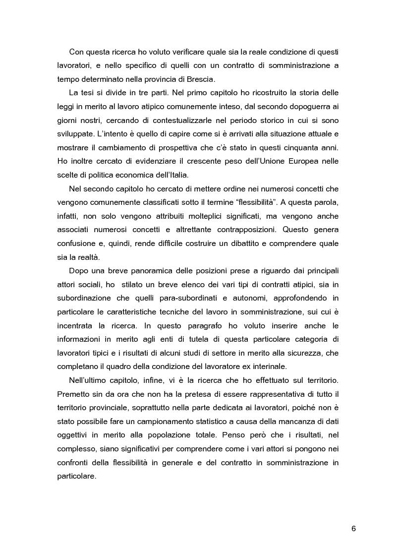 Anteprima della tesi: I lavoratori in prestito: uno studio sui nuovi contratti di lavoro, Pagina 2